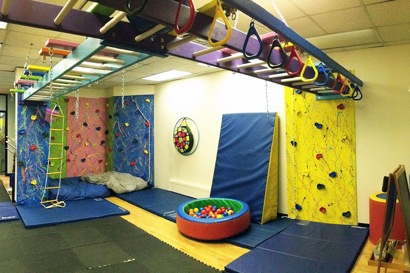Theraplay Gym view | Sensory gym | Pinterest | Gym, Basements and ...
