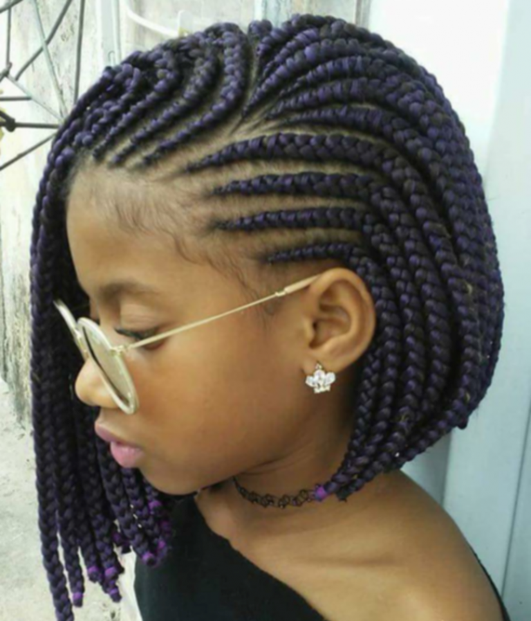Braided Hairstyles For Black Hair Pinterest Uncategorized Braids And Beads Natural Hairstyles Fo Kids Braided Hairstyles Cornrow Hairstyles Natural Hair Styles
