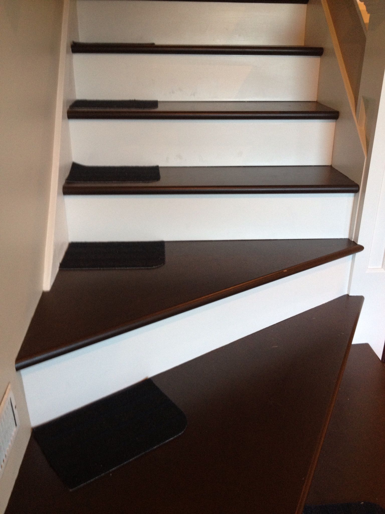 stair treads from ikea cut in half for the dogs who can 39 t