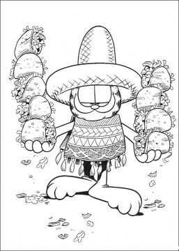 fiesta coloring pages # 64