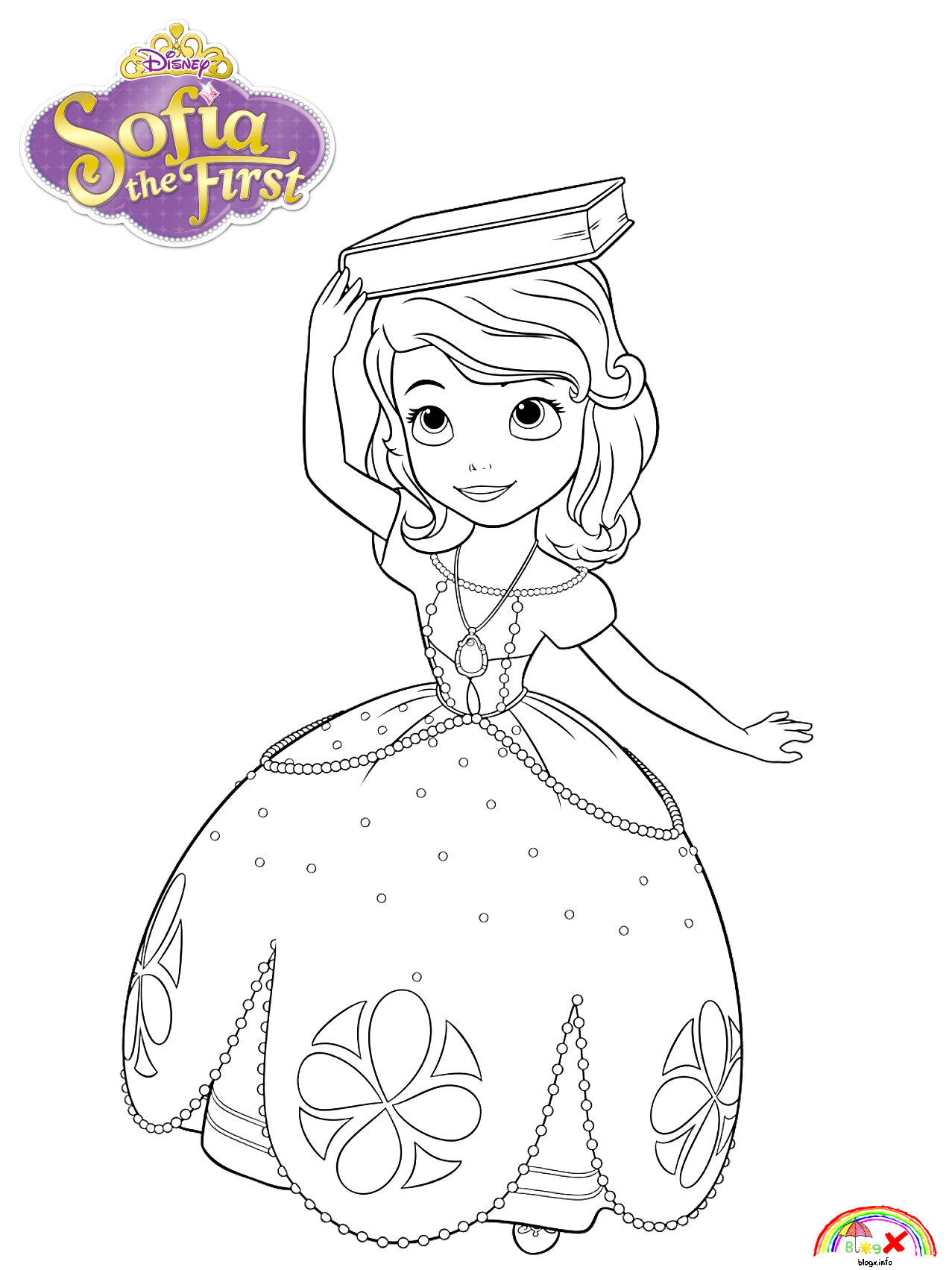 Pin By Shawna Vilim On Coloring Pages Coloring Pages Princess Sofia The First Free Coloring Pages