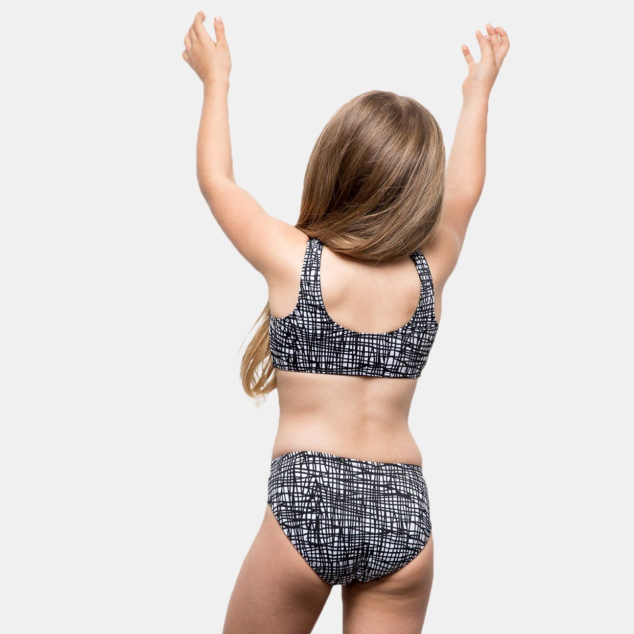 9c8189c0fd Girls bikini with our signature cami top and bottom by CURRENT. Two piece  set Fully lined Suggested fit: 5-12 years old Model wearing size 5/6 Made  in Los ...