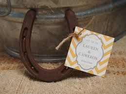 Lucky In Love Horseshoe Wedding Decor Details