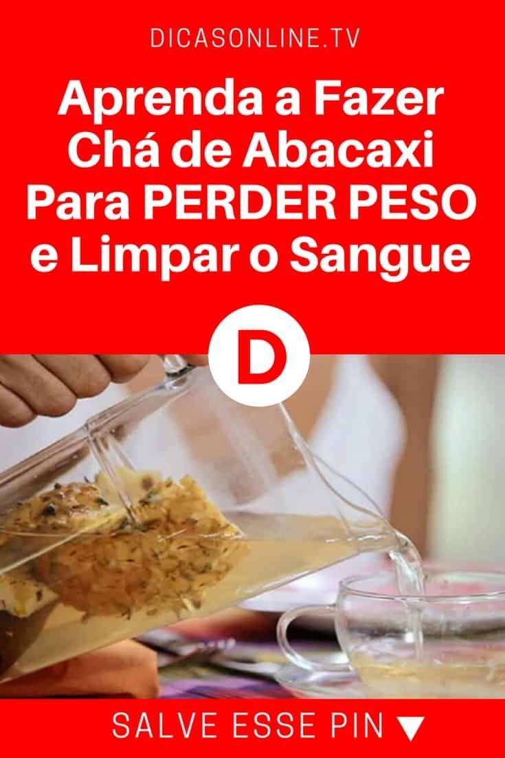 Cha De Abacaxi Para Controlar O Colesterol E Emagrecer Cha De