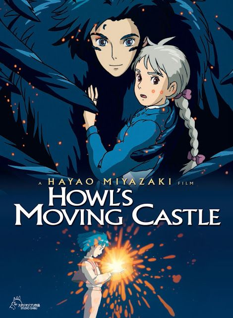 Howl S Moving Castle Filmes Studio Ghibli Filmes De Anime E