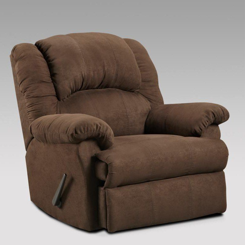 1000 Rocker Recliner With Chaise Seating By Affordable Furniture   Barneyu0027s  Furniture   Rocker Recliner Springfield, Decatur, Taylorville, And Lincoln,  IL