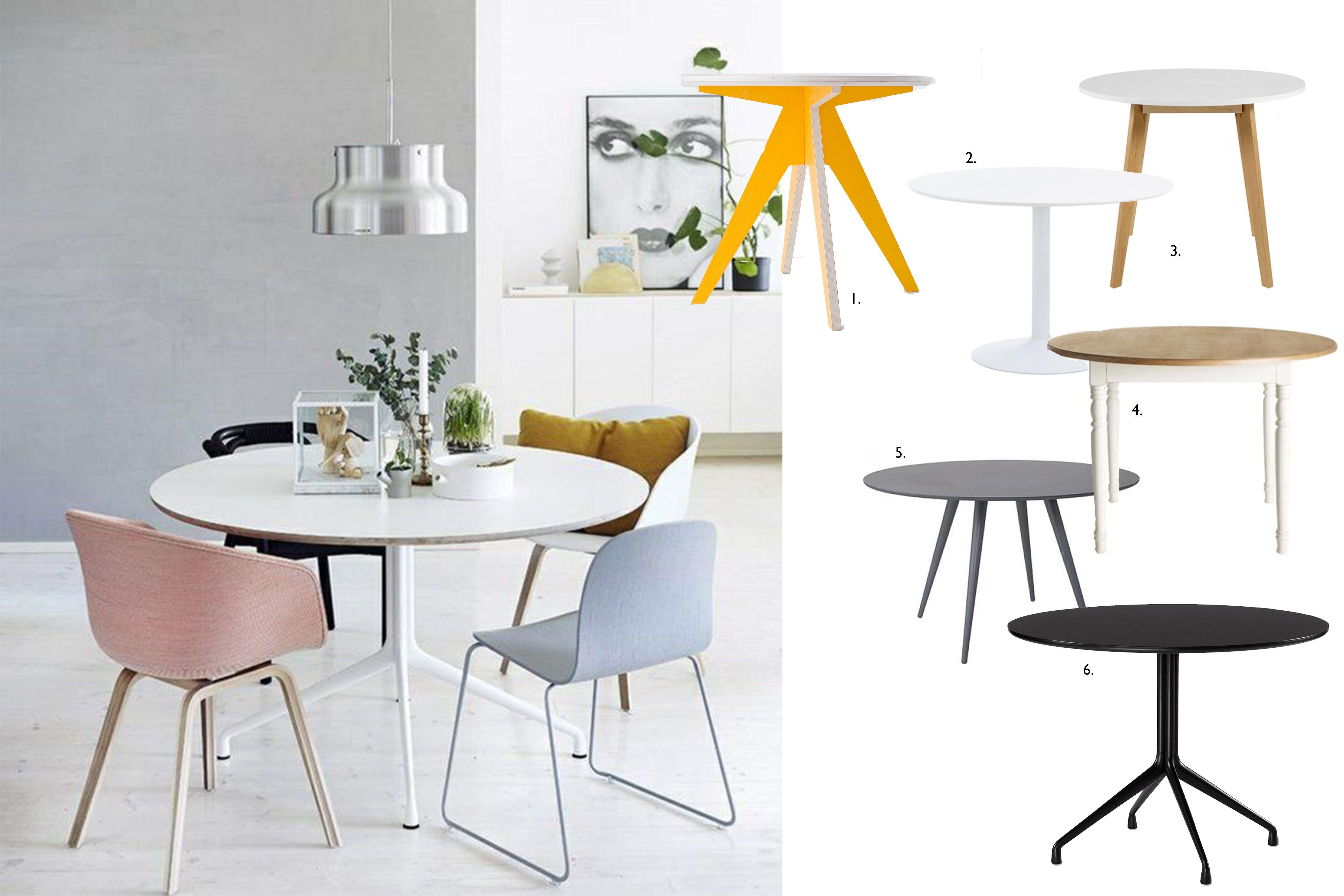 Bei Kleinen Wohnungen Stellt Sich Die Frage Nach Dem Perfekten Esstisch Runde Tische Verschonern Jeden Raum Und Bieten Genugen Kleiner Esstisch Tisch Esstisch