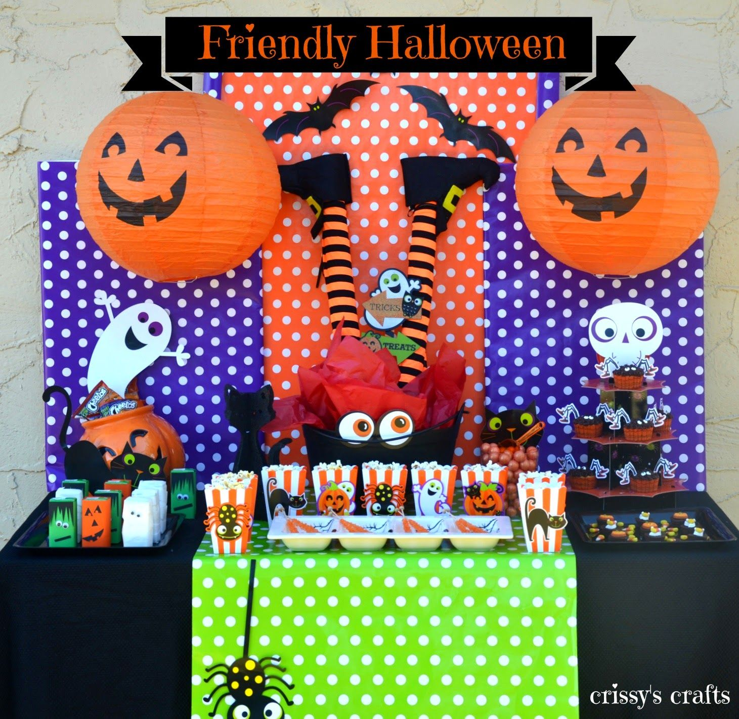 Crissy\u0027s Crafts Kid Friendly Halloween Party Halloween Ideas - Kid Friendly Halloween Decorations
