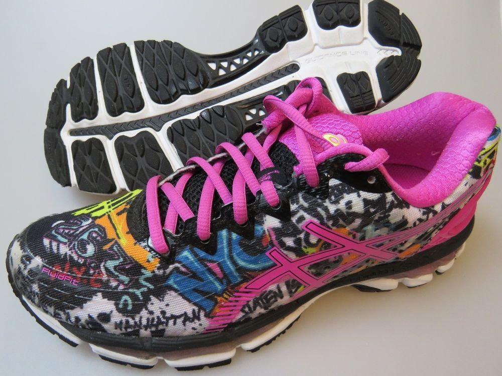 ASICS Gel-Nimbus 17 NYC Women's Size 9.5 LIMITED EDITION Shoes Sneakers  T5M8N