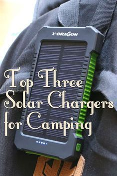 Photo of The Top Three Solar Chargers for Camping