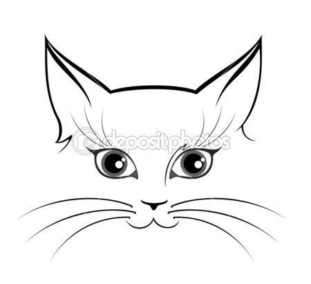 Pin de Sara Ruhland en Doodles   Pinterest   Gato, Gatos locos y ...