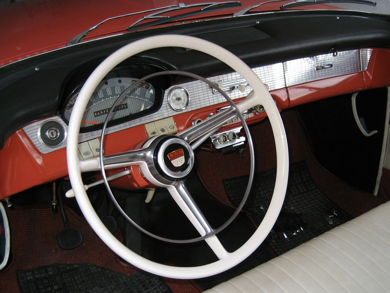 1958 - Ford Taunus 17 M de Luxe - P2 - dashboard   Ford ...