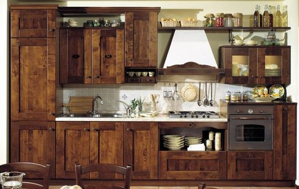 Country Style Kitchen Islands | Country Style Nature Wooden Kitchen  Furniture