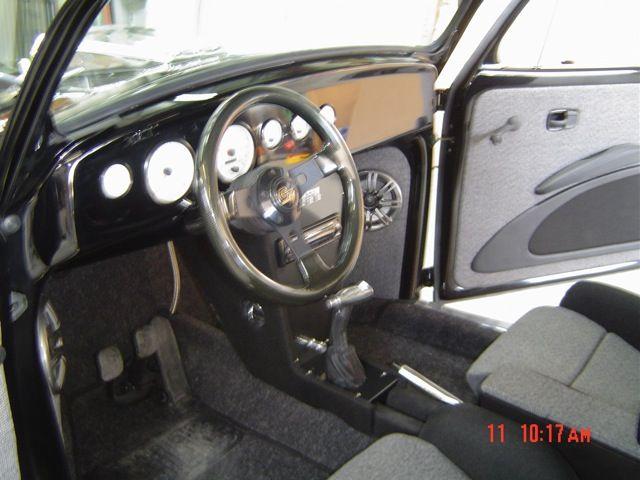 Custom Vw Bug Interior The Volxrod Beetle For Oldbug