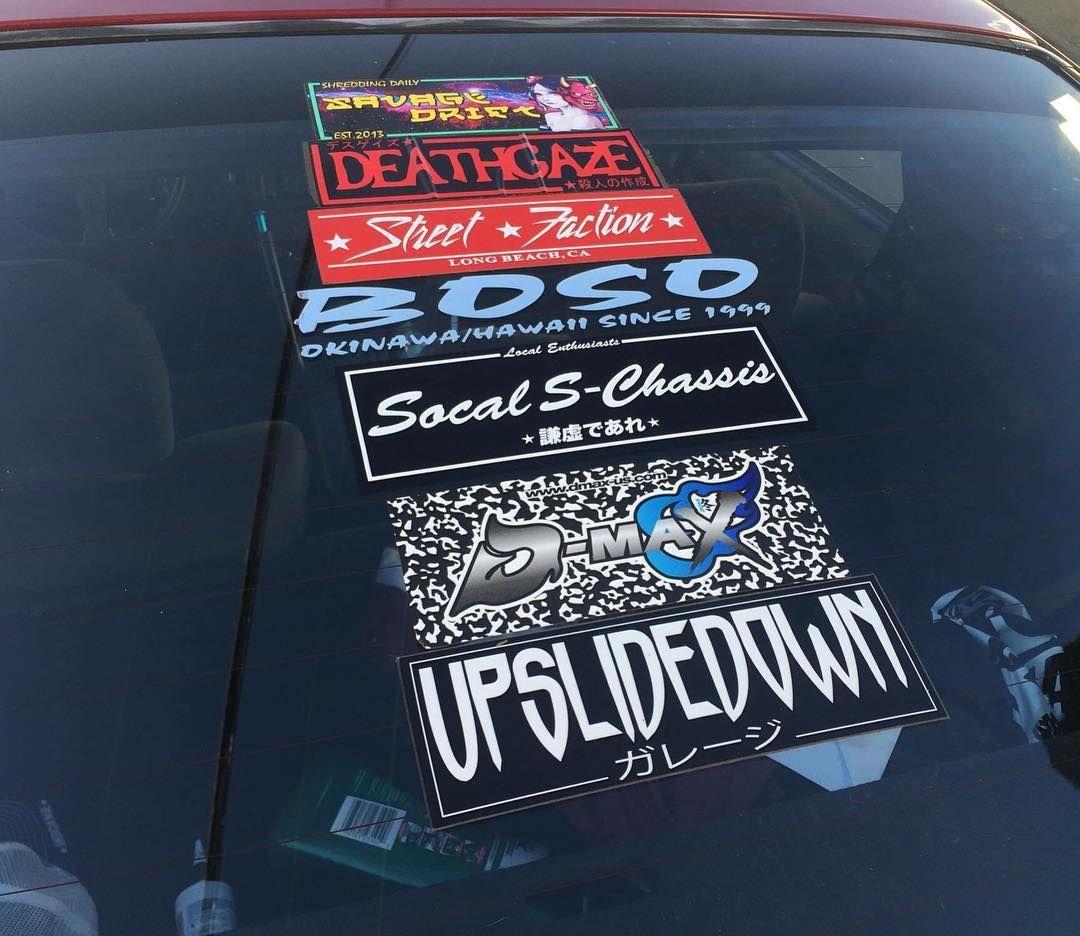 An Idea Of How Big Our New Slap Is Http Ift Tt 1egph5m Socal Sticker Design Jdm Car Stickers [ 936 x 1080 Pixel ]