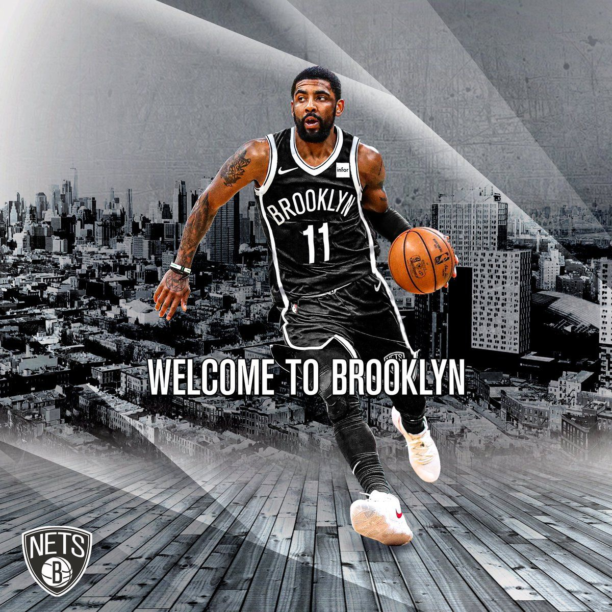 Kyrie Irving Brooklyn Nets Wallpapers Kyrie Irving Kyrie Brooklyn Nets