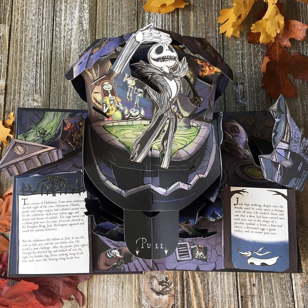 Treat yourself to this petrifying pop-up book fit for the Pumpkin ...