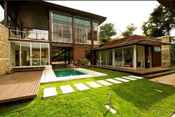 Fine Backyard House Design Home Design And Style Inspirational Interior Design Netriciaus
