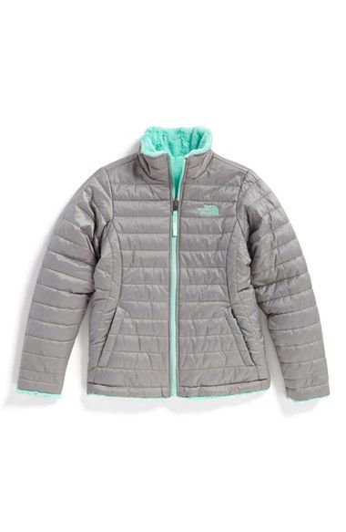 dd3f8ce33d The North Face  Mossbud Swirl  Reversible Water Repellent Jacket (Little  Girls)