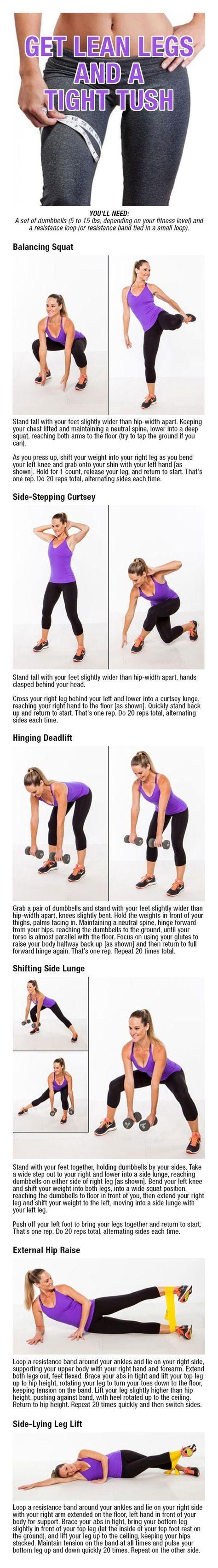 ejercicio para adelgazar caderas y piernas