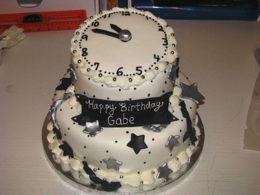 New Year's Eve And Birthday Cake New year cake designs