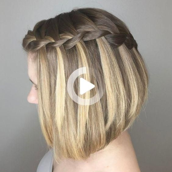 Photo of WEDDING HAIRSTYLE WITH BRAIDS – The Fairy Godmother Alessan …