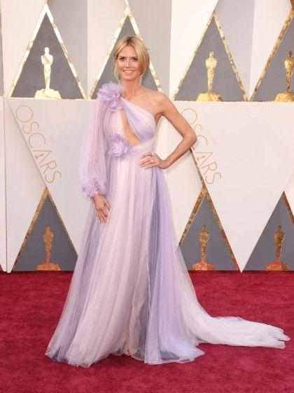 Heidi Klums Oscar Dress 2016 | Heidi klum, Marchesa and Crossdressers
