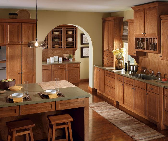 Kitchen Remodel Kalamazoo Mi: Homecrest Sedona Oak W/sable Finish