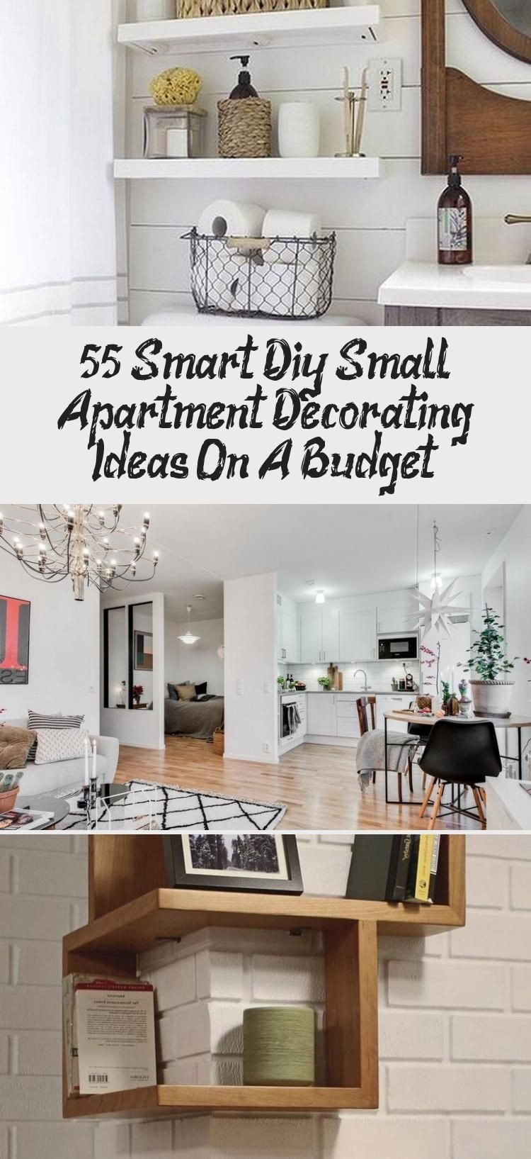 55+ Smart Diy Small Apartment Decorating Ideas On A Budget - Decor Zone -  55+ Smart DIY Small Apartment Decorating Ideas on A Budget #apartmentgardening #apartmentdecor #apa - #Apartment #Budget #Decor #Decorating #diy #Ideas #shabbychicdecoronabudget #Small #Smart #Zone