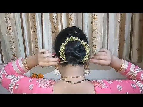 Braided Bun Bridal Hairstyles Juda Hairstyles Cute