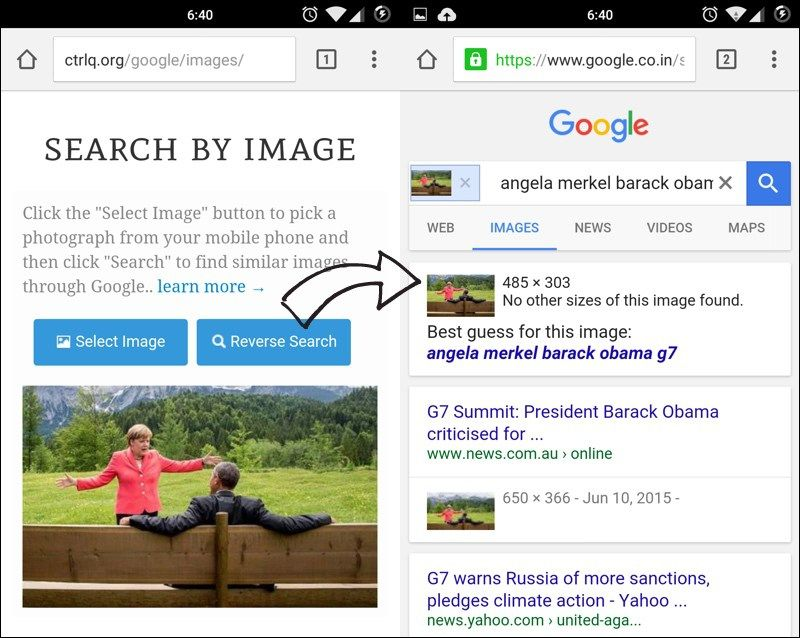 How To Do Reverse Image Search On Your Mobile Phone Google