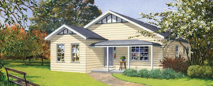 Paal Kit Homes Home Designs: Fitzroy. Visit www.localbuilders.com.au ...