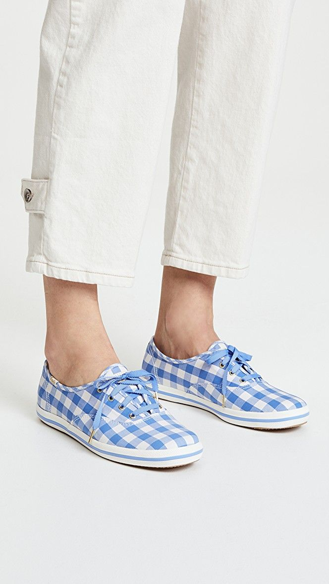 39897958049a5 Keds x Kate Spade New York Gingham Sneakers