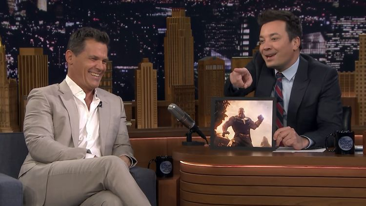 Josh Brolin Tries Out Different Voices For His Avengers Infinity War Character Thanos Josh Brolin The Voice Infinity War