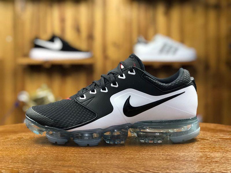 234c74846 2018 Nike Air Vapormax Flyknit Mens Athletic Shoes Black White AH9046-003