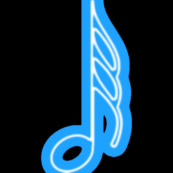 Zoom Diseno Y Fotografia Clave De Sol Notas Musicales Colores Fluorescentes Notas Musicales Notas Clave De Sol