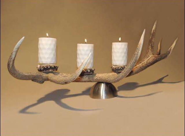 www.oh-my-deer.com  #geweih #antler #hirsch #deer #extravagant #stilvoll #modern #stilvoll #dammwild #einzigartig #unique #handwerk #kunsthandwerk #kunst #handgemacht #holz #OH_MY_DEER #omd #traditionell #kerzenhalter #licht #candle #light