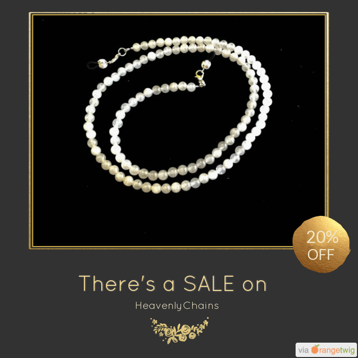 We are happy to announce 20% OFF on our Entire Store. Coupon Code: DUTCH19.  Min Purchase: $10.00.  Expiry: 16-Jan-2018.  Click here to avail coupon: https://www.etsy.com/shop/HeavenlyChains?utm_source=Pinterest&utm_medium=Orangetwig_Marketing&utm_campaign=Coupon%20Code   #etsy #etsyseller #etsyshop #etsylove #etsyfinds #etsygifts #sale #coupon