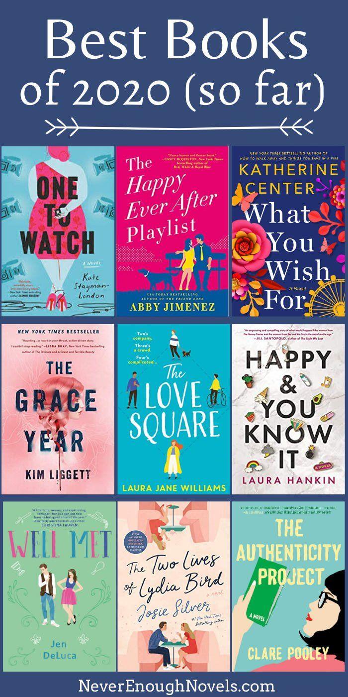Best Fiction Books of 2020 So Far - Never Enough Novels