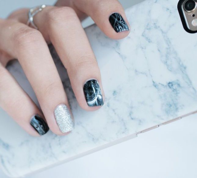 17 Ways to Get OMG-Worthy Marble Nails for Fall - 17 Ways To Get OMG-Worthy Marble Nails For Fall Marble Nails