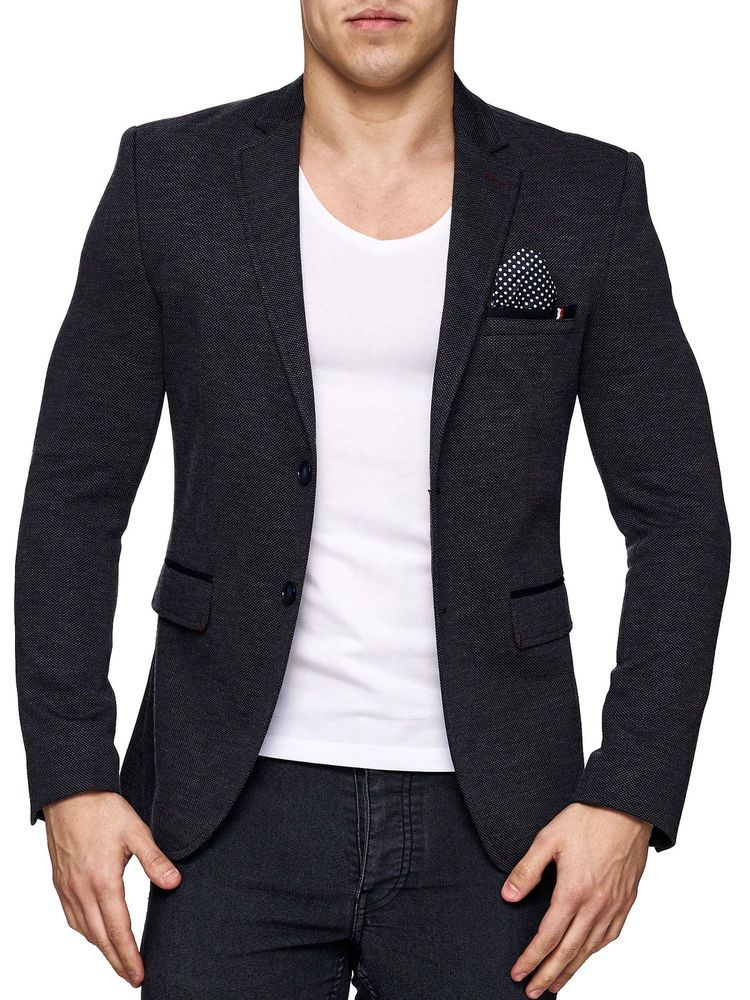 best website 4fa07 4c06f Herrensakko Sakko Blazer Anzug Slim Fit Elegant Casual ...