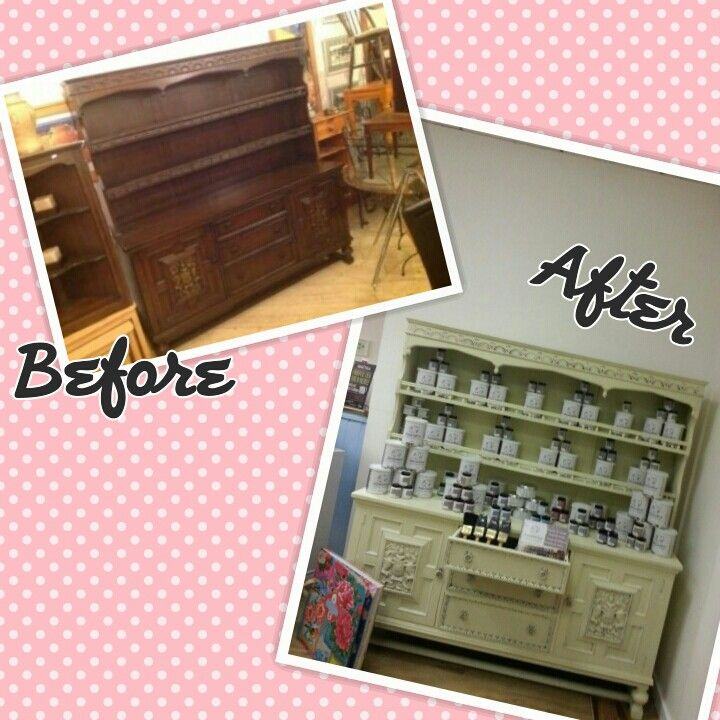Chalk Paint For Kitchen Cabinets Uk: Mahogany Dresser Painted In Autentico Vintage ( Contains