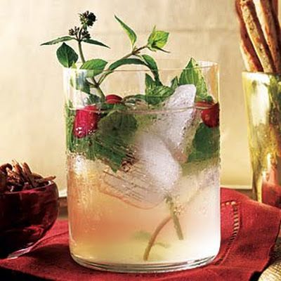 White Cranberry Spritzer (Cooking Light) @keyingredient