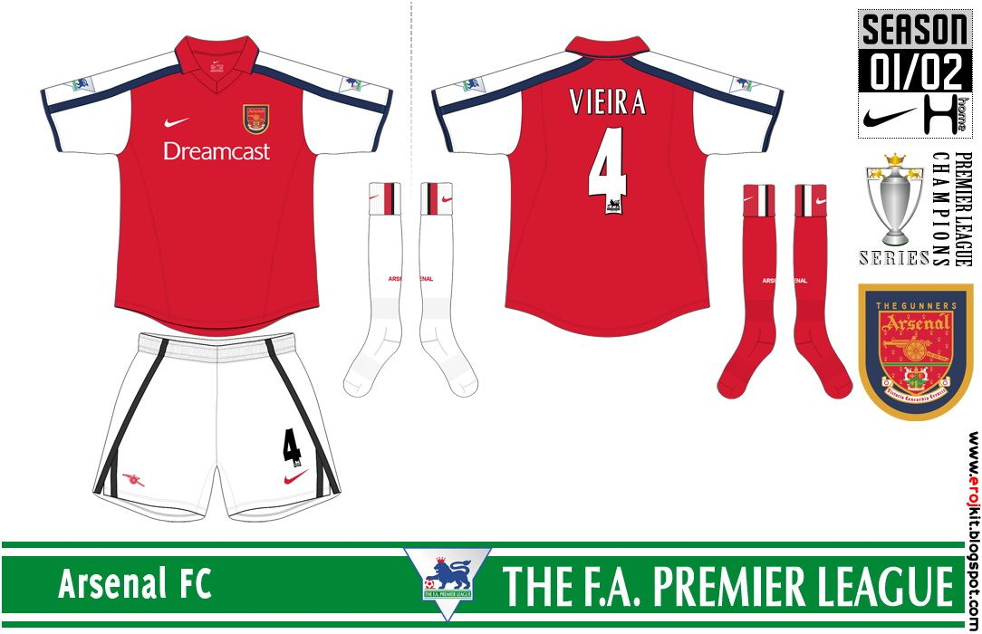 sports shoes 96a9a 2663e Pin on Arsenal Kits History