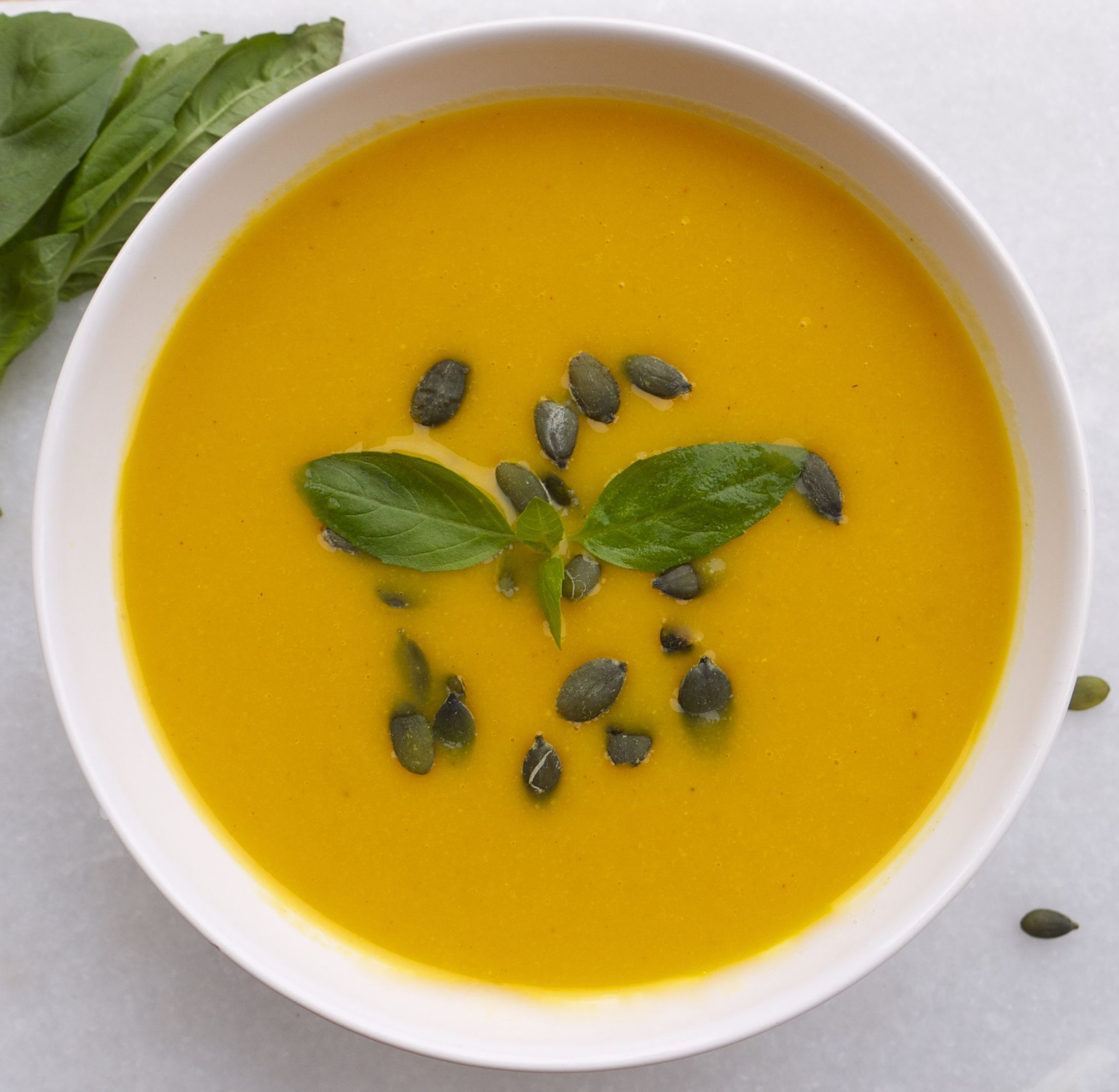Carrot, Coconut and Yellow Split Pea Soup Recipe Low