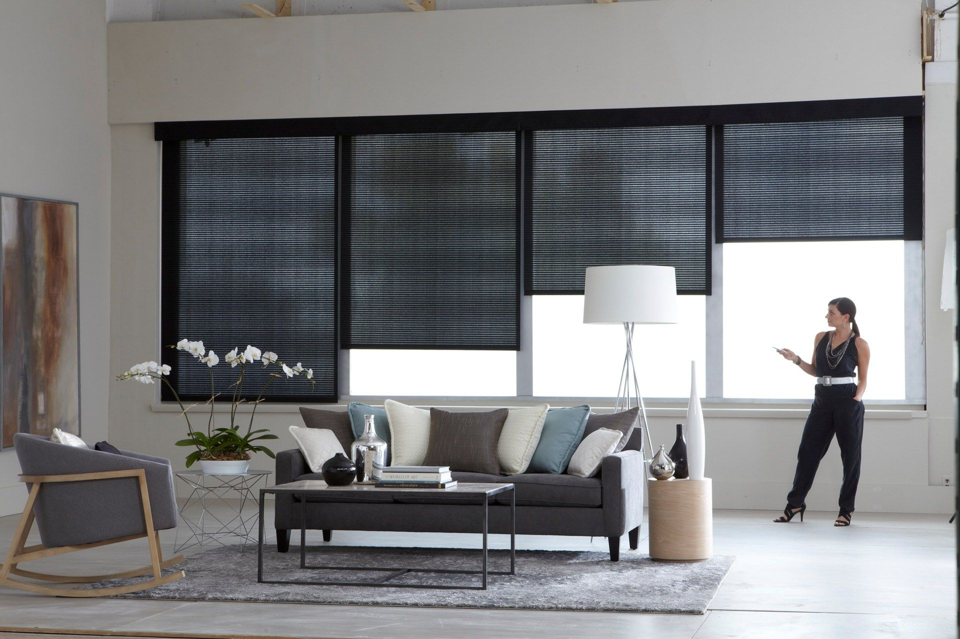 Motorized solar shades are easy to operate roller for Motorized solar shades for windows
