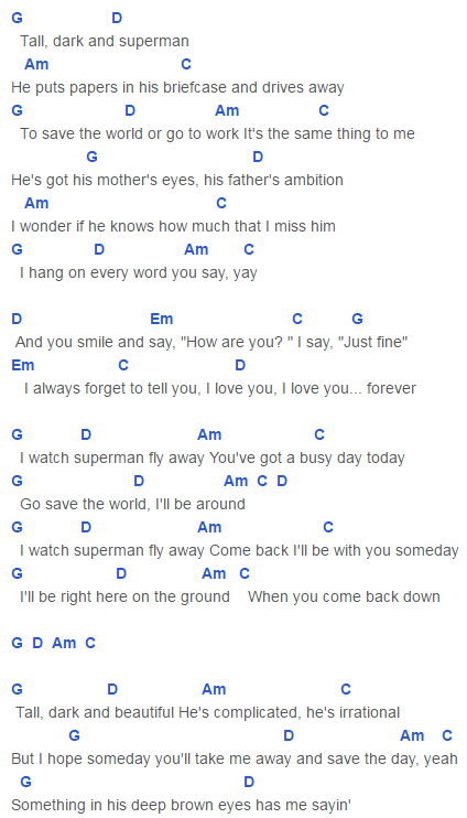Superman Chords Taylor Swift Songs Pinterest Taylor Swift