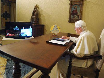 まだちょっと得心できません。ホントですか? ローマ教皇が直接、ツイートしようとしているなんて。
