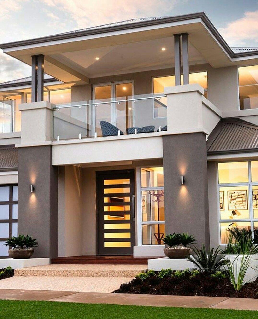 Pin by Melda Avc on arquitectura Modern minimalist house F