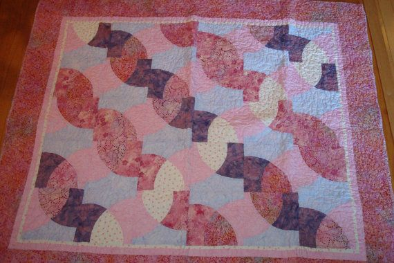 Pink Custom Quilt by ERA Boutique by ERABoutique1 on Etsy, $225.00